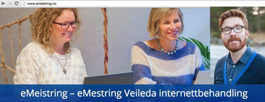 Til venstre: Faksimile fra www.emeistring.no. Til høyre: Psykolog Reidar Nævdal