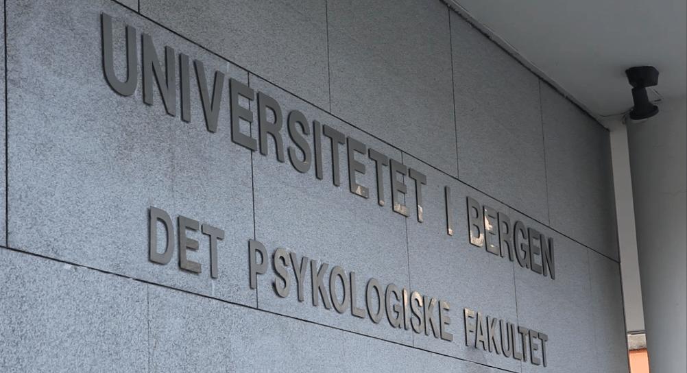 Nye tider ved Det psykologiske fakultet Foto: Fredrik Lian