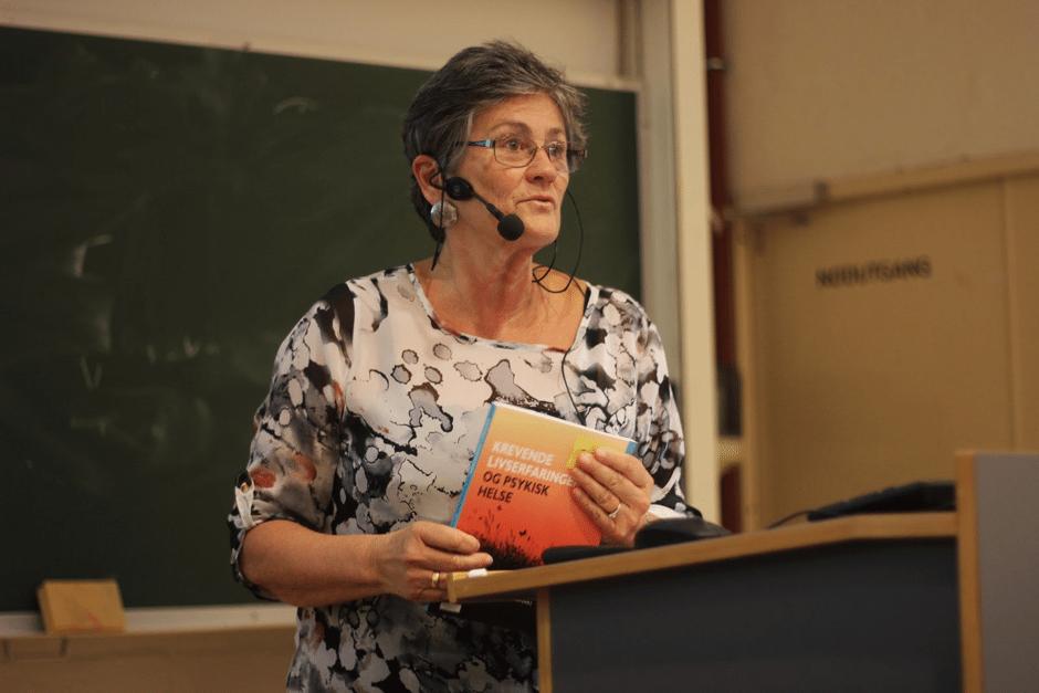 Professor og forsker Kari Dyregrov. Bilde: Thea Marie Øybø.