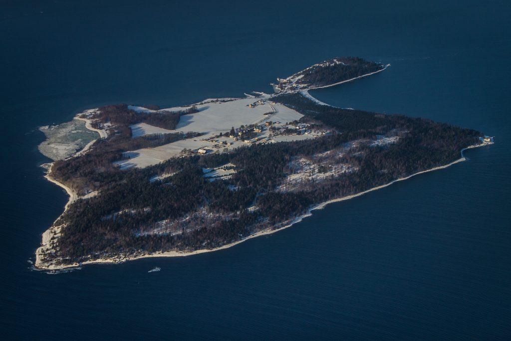 Bastøy Fengsel - fengselet i det fri. Foto: wikimedia/Grim23.