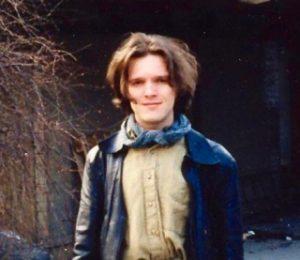 En ung, eksistensielt søkende Per-Einar Binder. Foto: Privat
